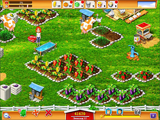 Веселая ферма - игры ферма бесплатно - myplaycity - скачать.