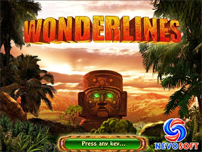 NovaGame.ru - Скриншот Wonderlines, скачать бесплатно мини игру Wonderlines,